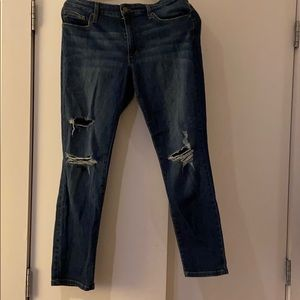 Joes size 30 distressed jeans
